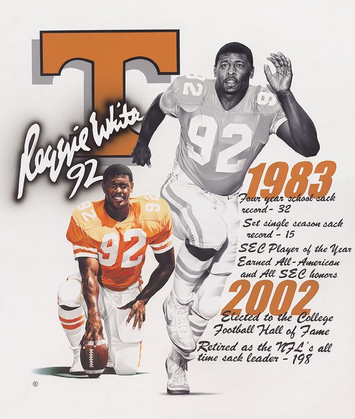 cheap for discount 8cabc de8a0 Reggie White | Vintage Retired Players | Tennessee ...