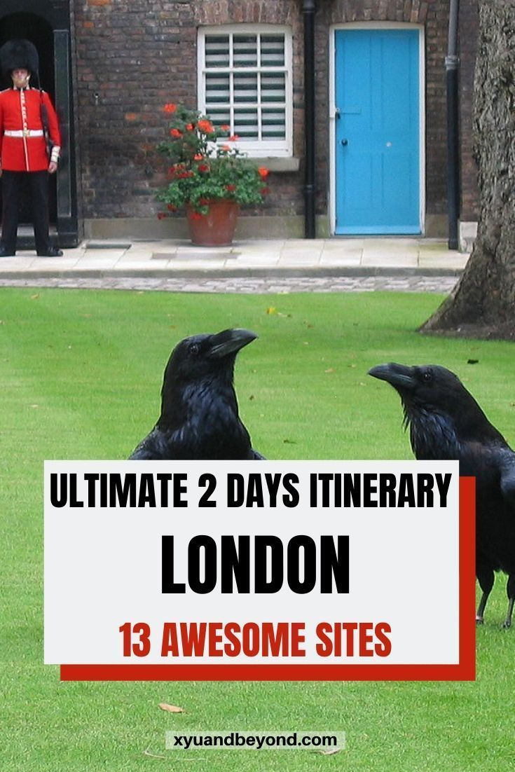 Are you looking for the ultimate 2 days in London itinerary? I adore London and have spent many happy days exploring the City.  Here are 13 must-see sites in London from Buckingham Palace to The Tower of London and Harry Potter's Diagon Alley. #England #travel #travelLondon #London #visitLondon #2daysinLondon #Britain