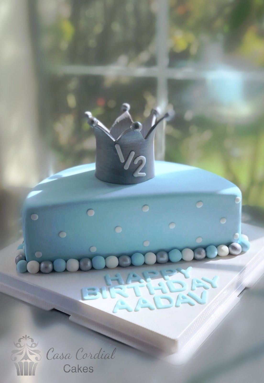 Pleasing 2Nd Year Baby Boy Birthday Cake The Cake Boutique Personalised Birthday Cards Cominlily Jamesorg