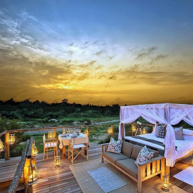 Lion Sands Game Reserve South Africa. Luxury safari