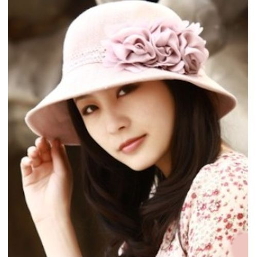 0c76cc8189a14 Fashion Women Pink Linen Summer Church Dress Sun Bucket Hats for Sale  SKU-158316