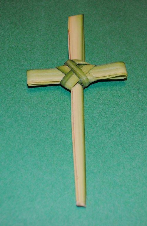 Celebrating Lent Holy Weekpalm Sunday Palm Cross Palm Sunday