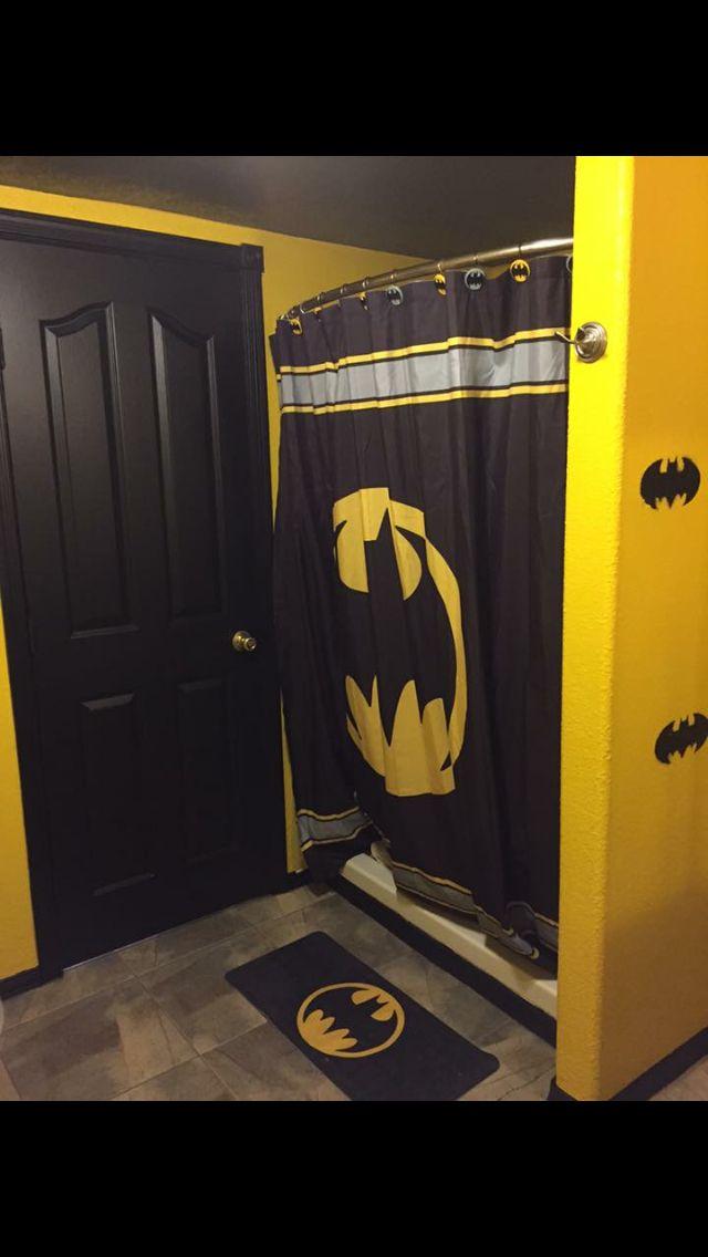 Cool Bat Cave Live It Batman Bathroom Batman Room Batman Decor