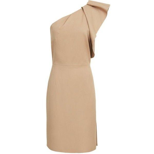 SELIKA ONE-SHOULDER COCKTAIL DRESS (265 CAD) ❤ liked on Polyvore ...