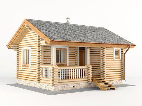 Проект бани 6 на 5 | Дизайн домика, Домашняя мода и ...