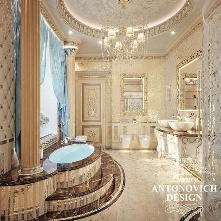 Luxury Home Interior Design Restroom: Pin By AmyJo Barnett On Bathroom In 2019