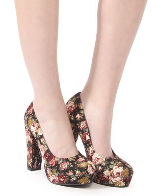 http://shoeniverseblog.blogspot.co.uk/2012/07/forever-21-floral-platform-pumps.html