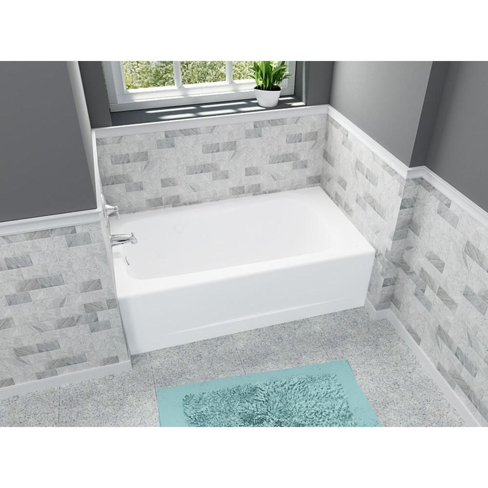 American Standard Cambridge 5 ft. x 32 in. Left Drain Soaking ...