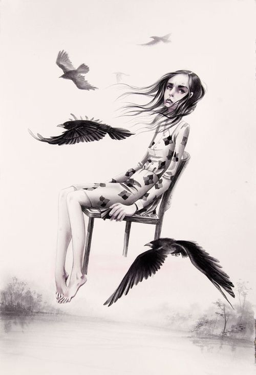 Flying With Crows | Annie Owens