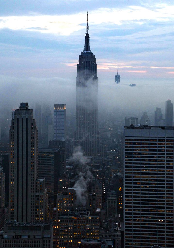 Miss U NY | transparency and fog | Pinterest | USA Reise, Stadt und ...