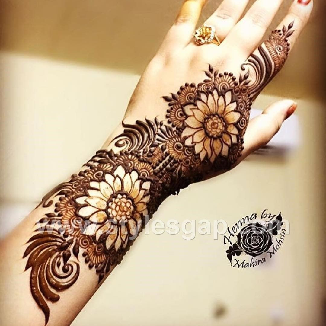 Latest Arabic Mehndi Designs Henna Trends 2019 2020