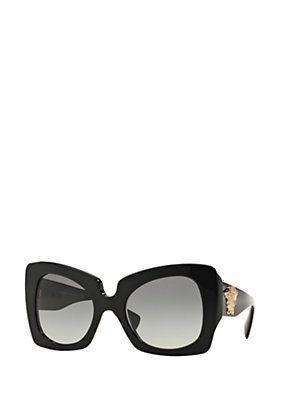 8724e66459fa Versace - Black Butterfly Sunglasses