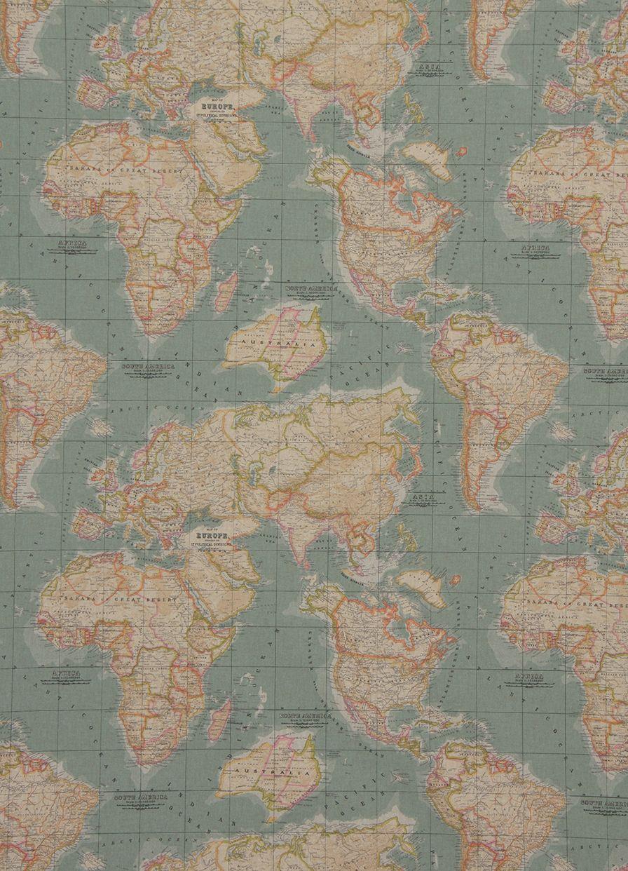 Annie sloan annie sloan fabric collection vintage world map annie sloan annie sloan fabric collection vintage world map gumiabroncs Image collections