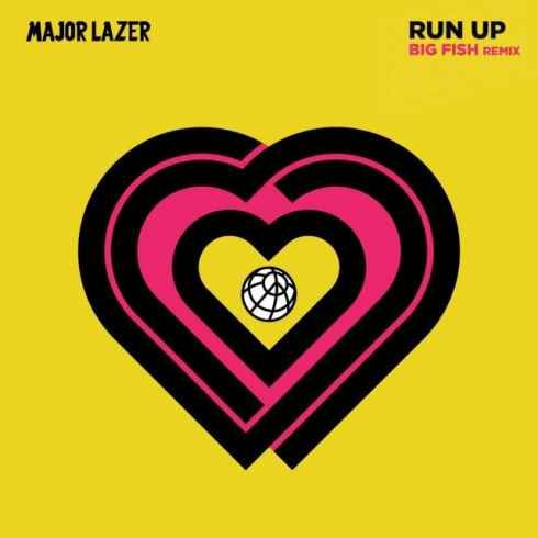 Major Lazer Run Up Big Fish Remix Cdq 320kbps Mp3 Free Download Major Lazer Lazer Vybz Kartel