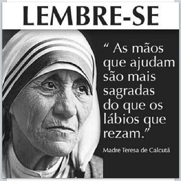 Frases De Madre Teresa De Calcutá Frases De Santos