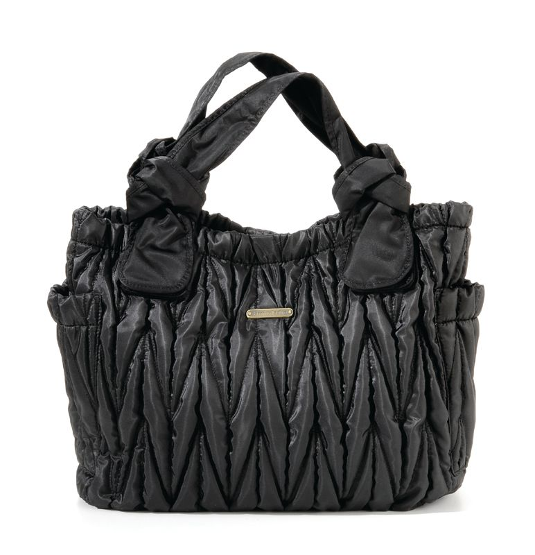 Marie Antoinette Diaper Bag - Black