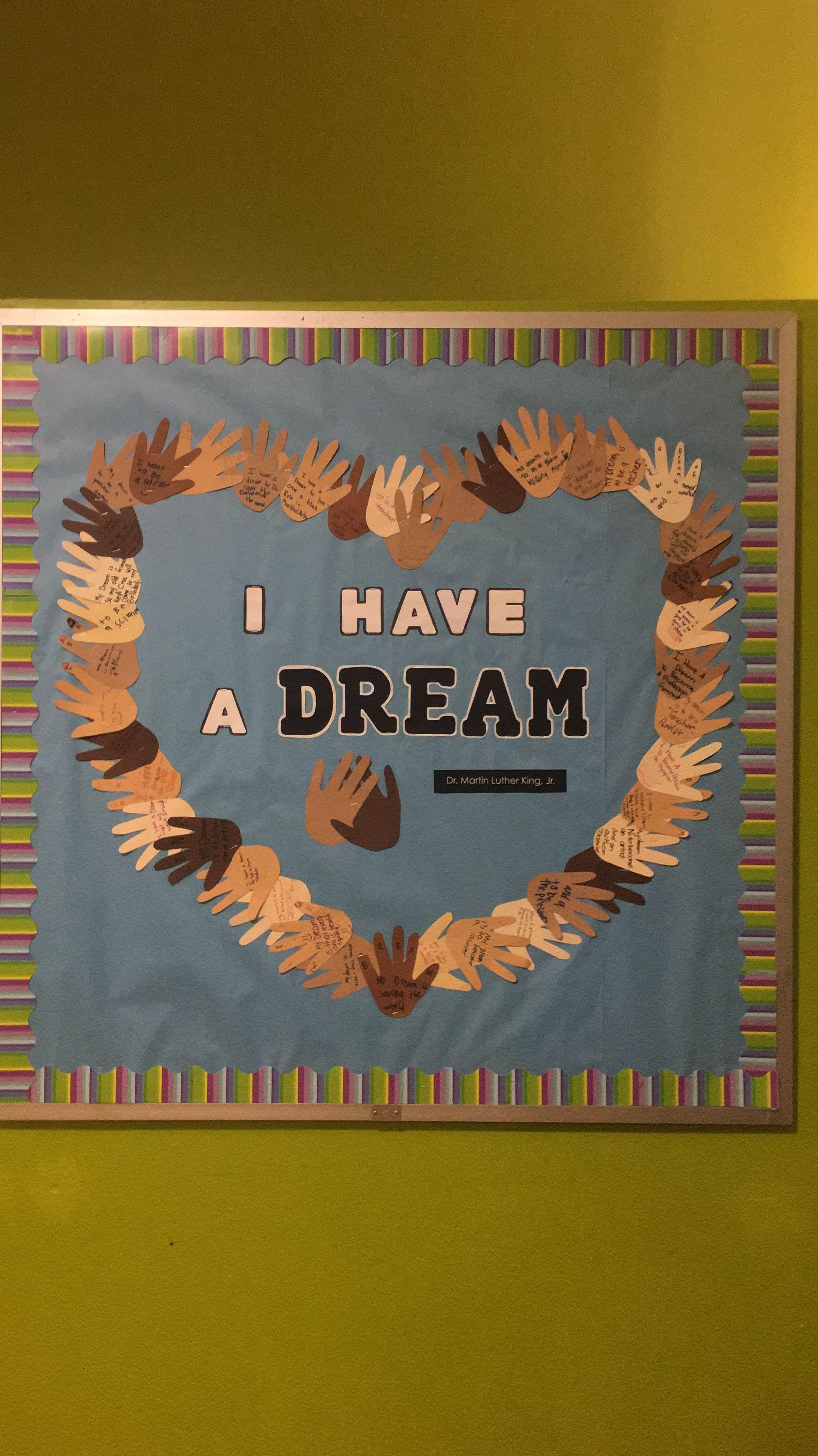 Have Mlk Ideas Bulletin I Board Dream