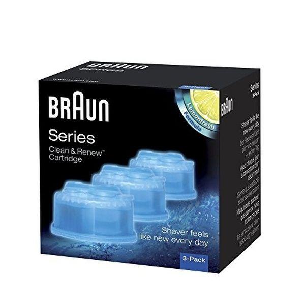 Braun Syncro Shaver System Clean Renew Refills Shaver Refills 3 Pack In 2020 Braun Clean Renew Cleaning Braun Shaver