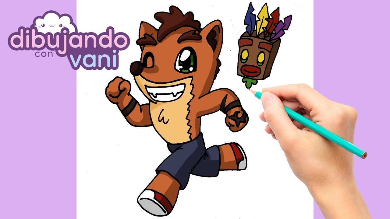 Como Dibujar A Crash Bandicoot Kawaii Dibujos Imagenes Anime Para Colo Cómo Dibujar Dibujo Paso A Paso Kawaii