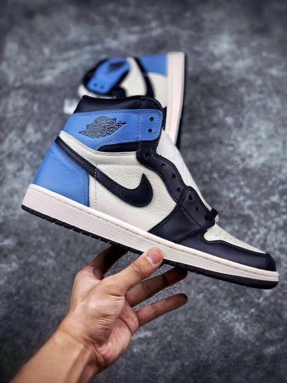Nike Air Jordan 1 Retro High Og Obsidian Unc Jordan Obsidian