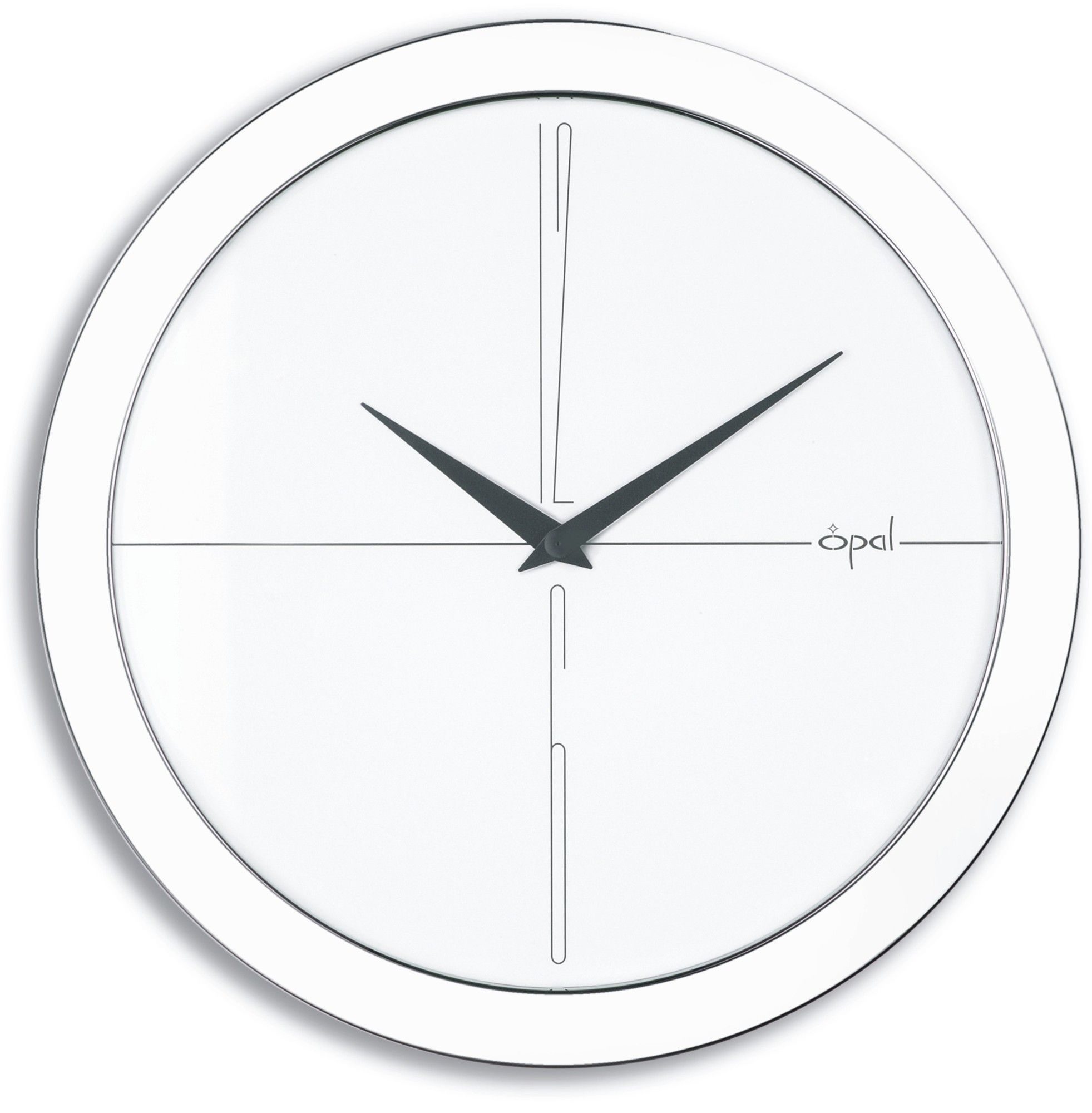 1116 Worlds Slimmest Wall Clock Products Pinterest Wall