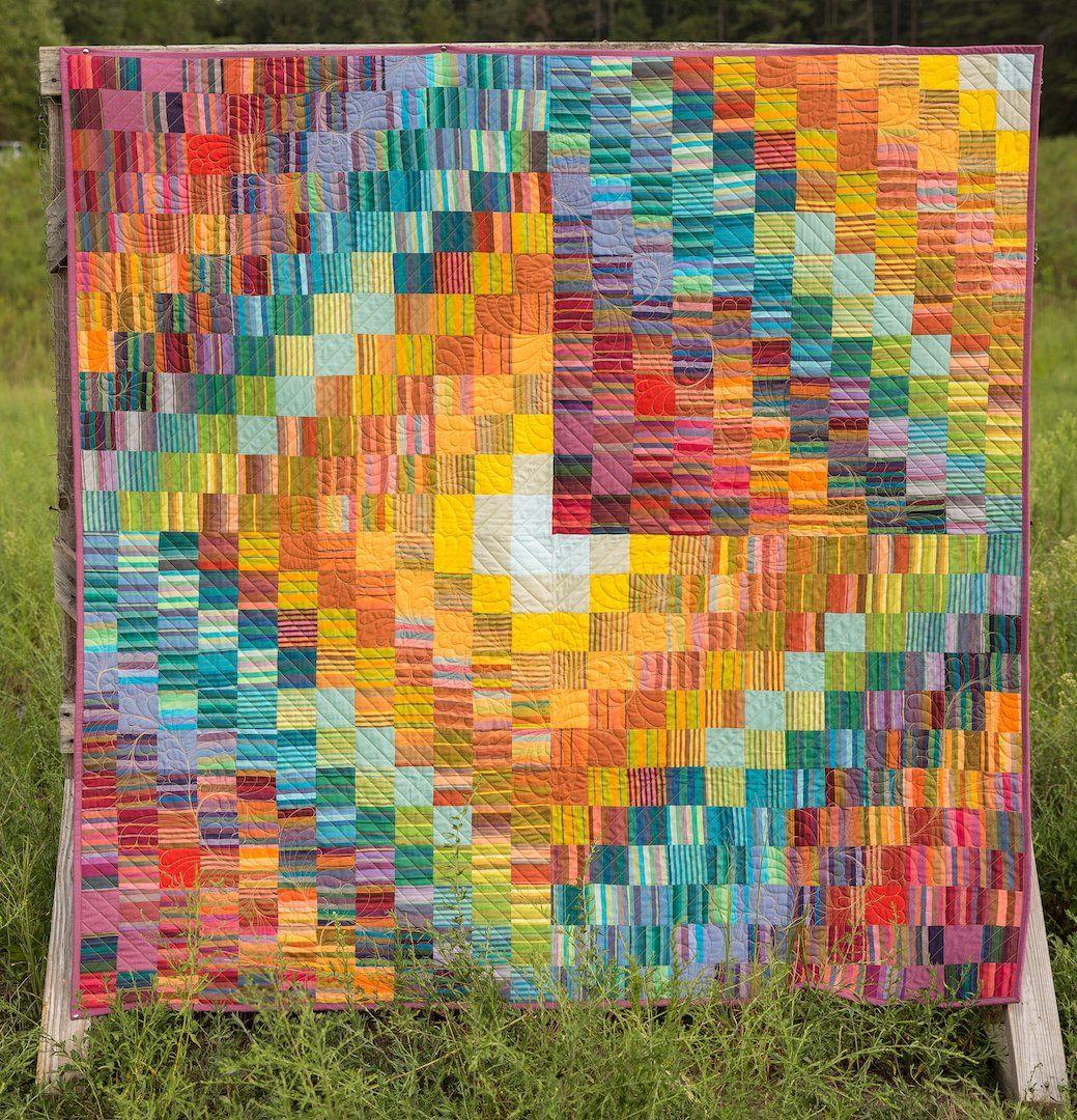 HALF MOON Quilt Kit Kaffe Fassett Woven Stripes | Quilt ... : kaffe fassett quilt kits australia - Adamdwight.com