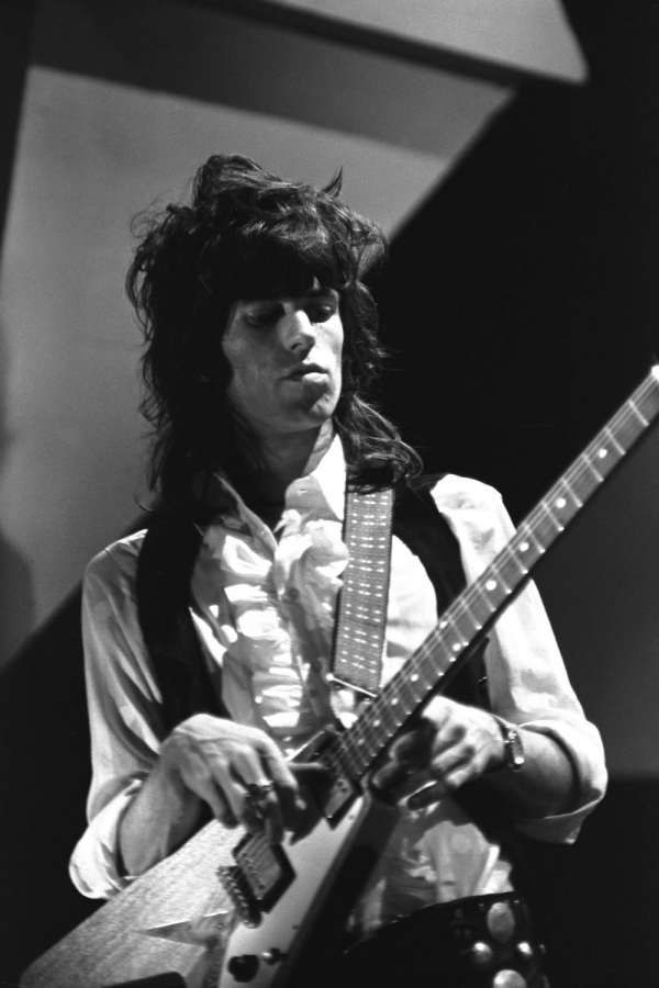 keith richards #gibson #flyingv #guitar