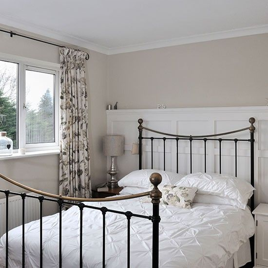 Alkoven Schlafzimmer Wohnideen Living Ideas: Weiß Und Creme Schlafzimmer Wohnideen Living Ideas