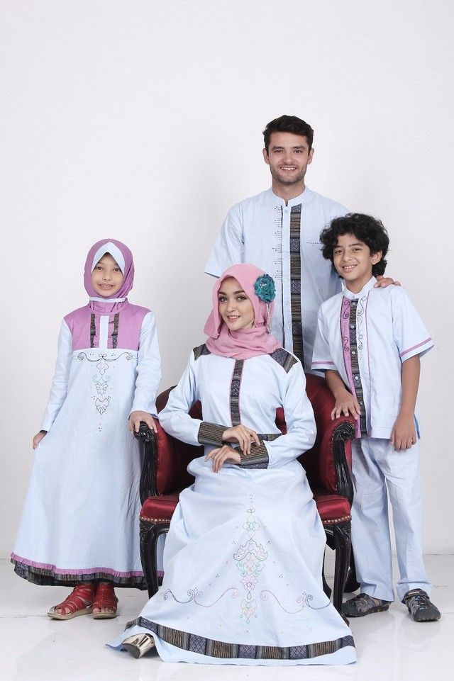Model Baju Seragam Idul Fitri