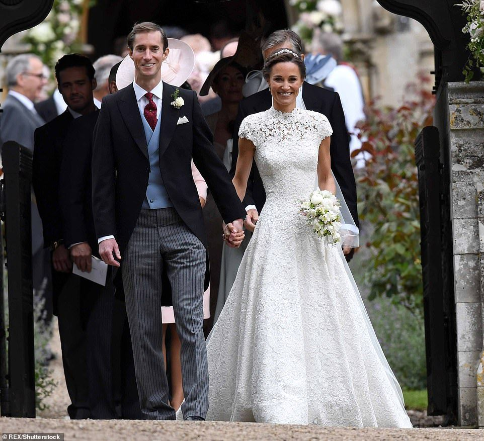 Vintage Wedding Dresses Kingston: Queen And Prince Harry Attend Lady Gabriella Windsor's