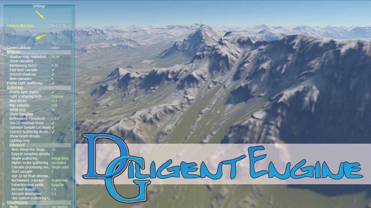Diligent Engine -- Cross Platform Vulkan, Direct3D and