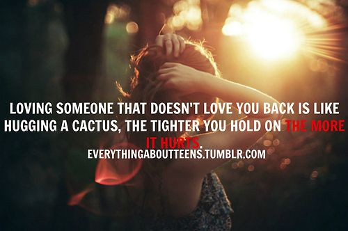 why couldnt you just love me back?   Love quotes for him ...