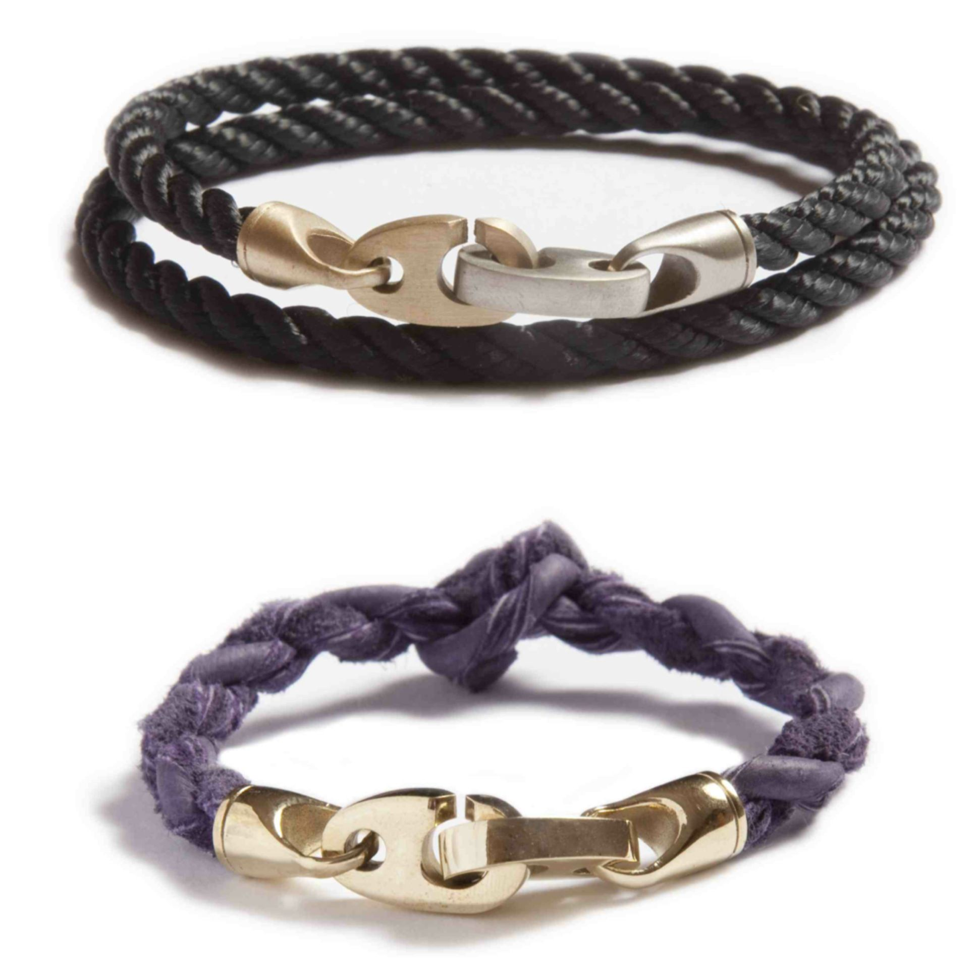 Our fall pick for guys and girls the mixed metal brak bracelet and