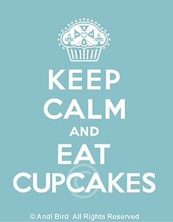 Keep Calm & Eat Cupcakes