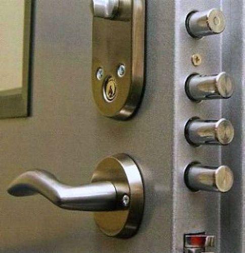 LOCKSMITH FLUSH LEVER BOLT FOR METAL DOORS US3