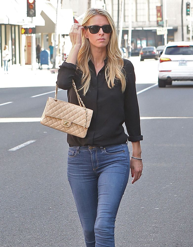 c375b0aff770 Nicky-Hilton-Chanel-Classic-Flap-Bag | Chanel | Chanel, Nicky hilton ...