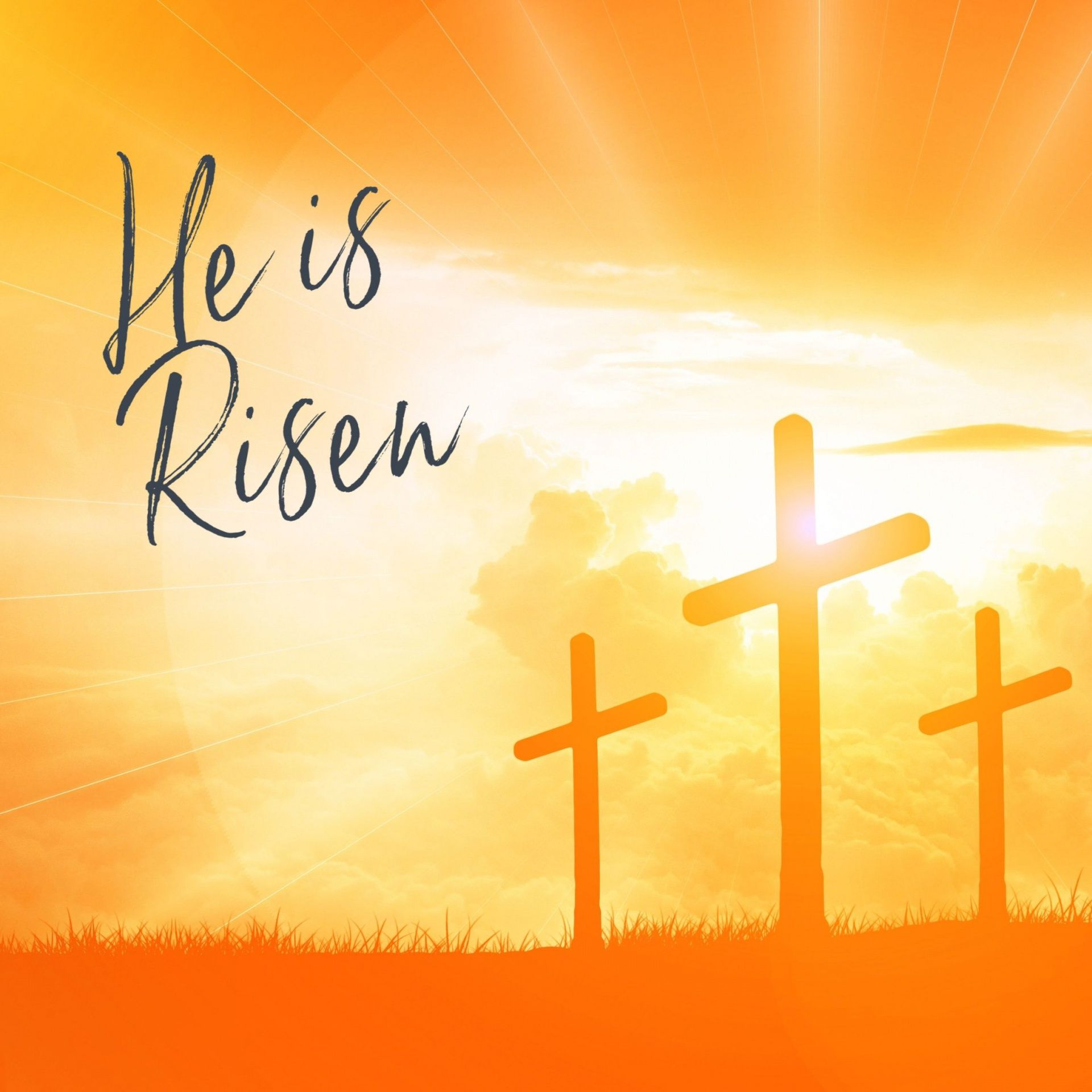 He Is Risen Easter Free Stock Photo - Public Domain Pictures in ...
