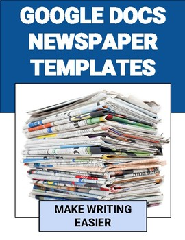 Newspaper Templates | Google doc Templates | Docs templates, Google