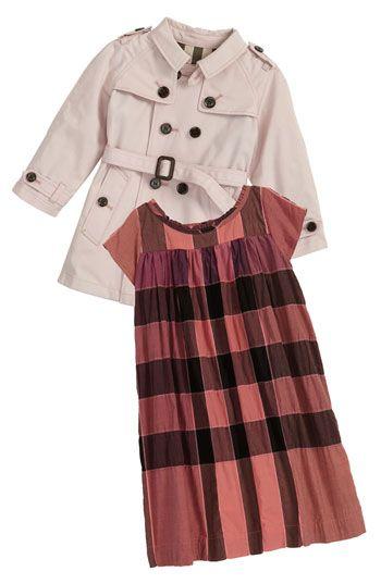 5d6505041 Burberry Dress   Trench Coat (Infant)