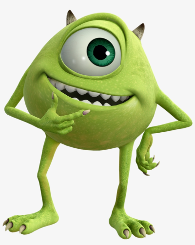 Mike Mike Wazowski Kingdom Hearts 3 Png Image Transparent Png Mike From Monsters Inc Monsters Ink Disney Canvas Art
