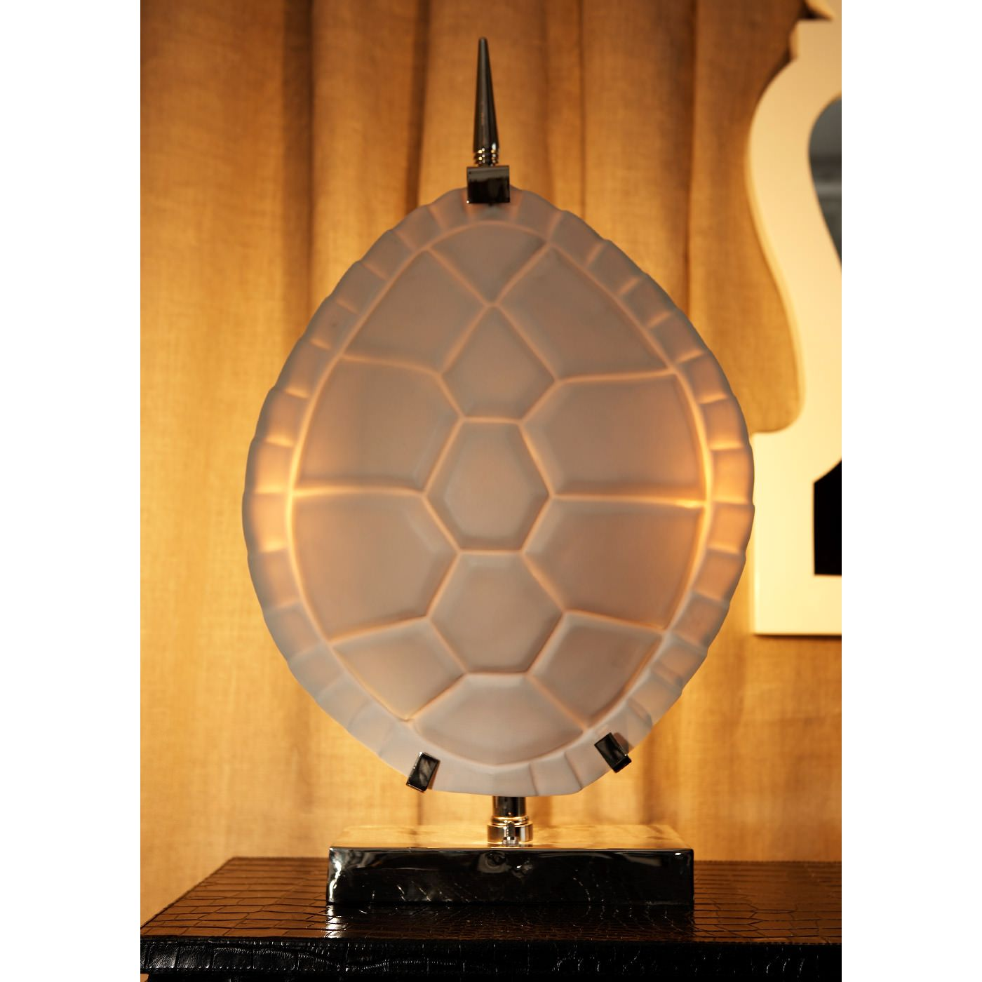 Product Placement From Jonathan Adler  Table Lamps  Tortoise