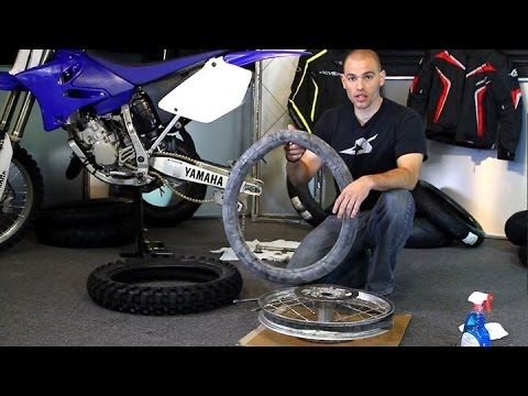 How To Change A Dirt Bike Tire Motorcycle Superstore Motor