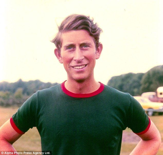1972 The 23-year-old Prince, in his polo kit, looks confident, assured and ready to face the world