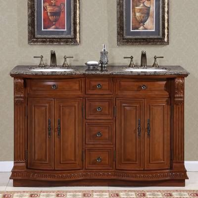 Teme 55 Double Bathroom Vanity Set Double Sink Bathroom Double Sink Vanity Bathroom Sink Vanity