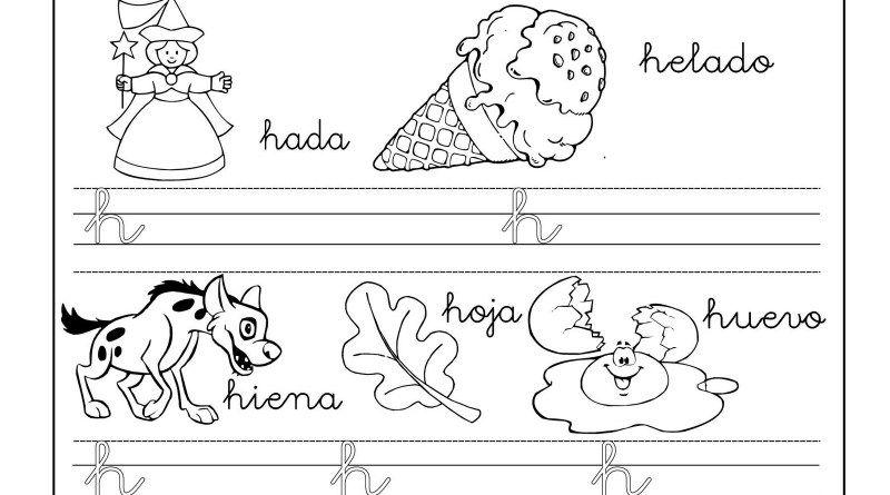 Lectoescritura Y Vocabulario Con La Letra H Trabajar La Lectoescritura Y Vocabulario Con Estas Estupend Actividades Con La Letra H Actividades De Letras Letras
