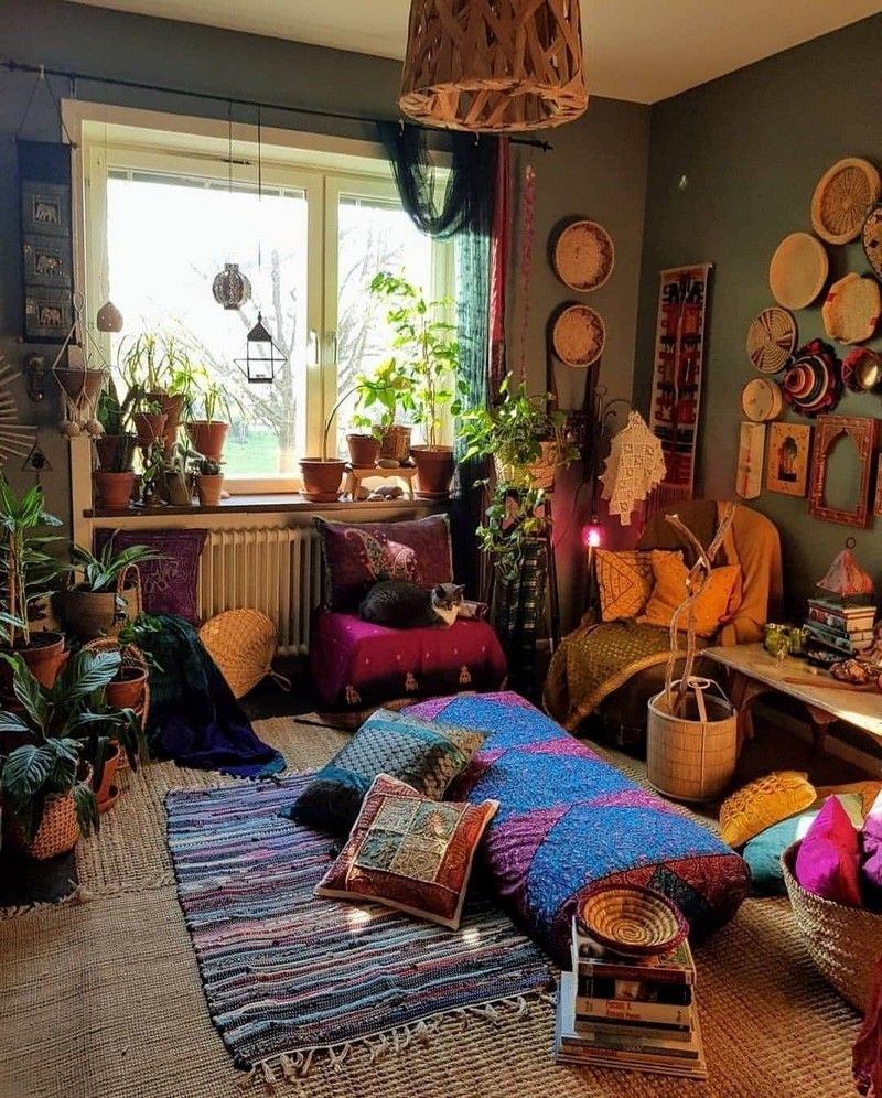 New stylish bohemian home decor and design ideas also bedroom furniture rh pinterest