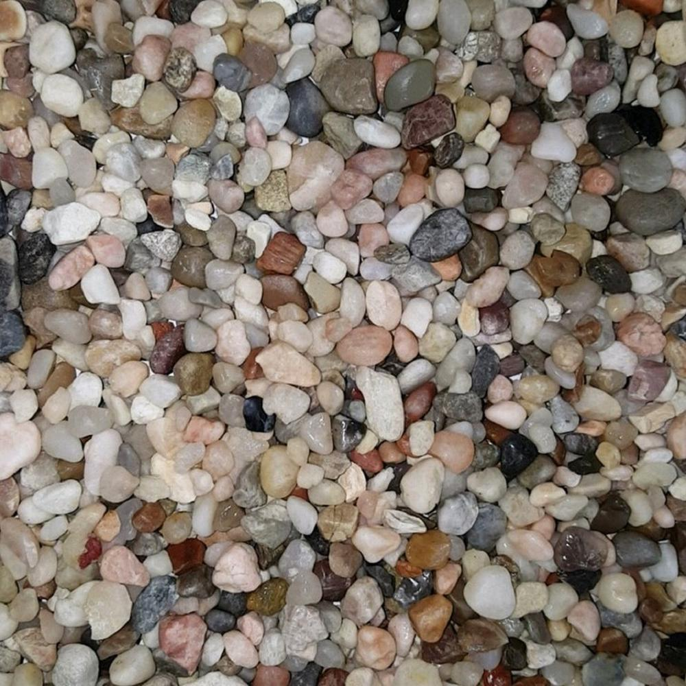 Butler Arts 3 8 In Montana River Decorative Landscaping Pebble 2200 Lbs Super Sack Mr 3 8 P2200 The Home Depot Landscaping With Rocks Hardscape Xeriscape Landscaping