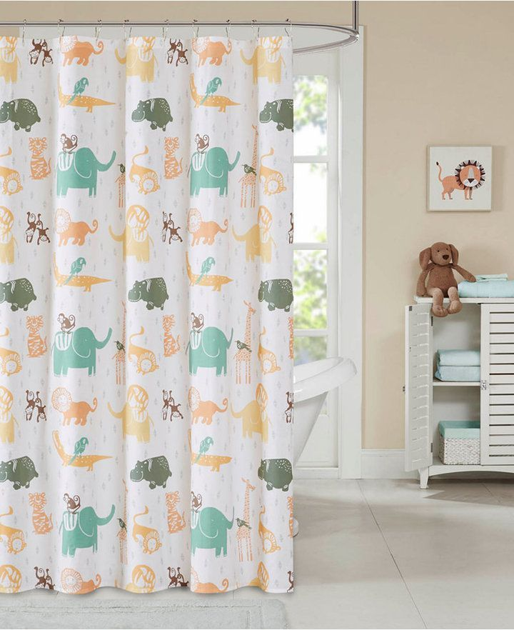 Ink Ivy Kids Jacala Printed Cotton Shower Curtain Bedding Curtains Curtains Kohls