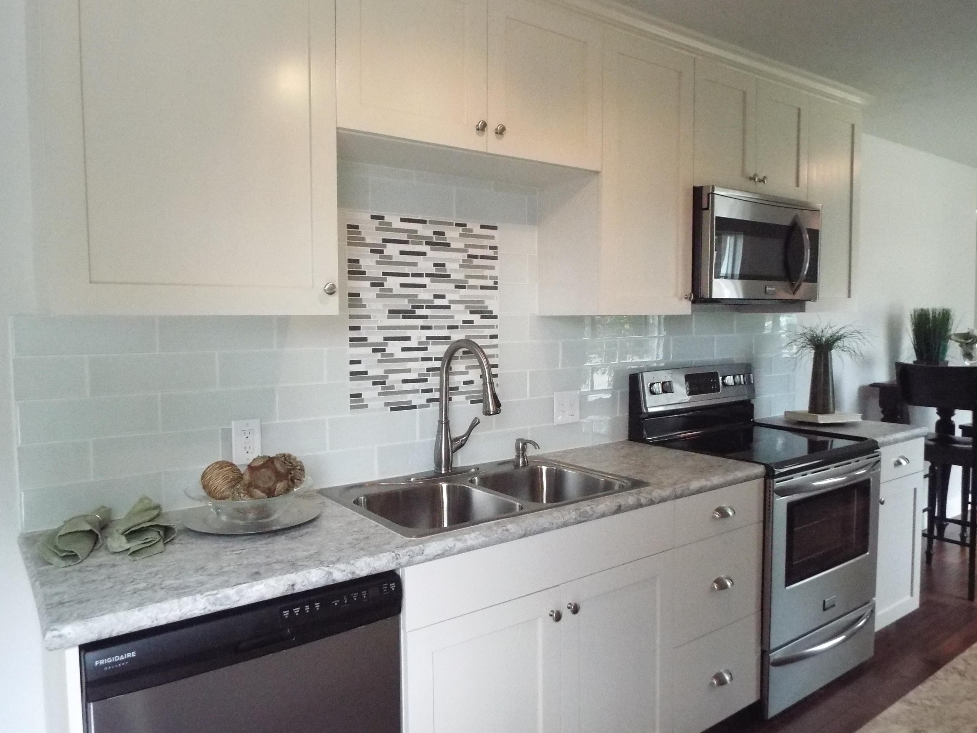 Southeast Boise Homes For Sale - Kitchen remodel, Home, Home remodeling, Glass tile backsplash, Kitchen, Galley kitchen - Southeast Boise Homes For Sale  Boise, Idaho Real Estate  The Most Comprehensive Home Search  Find All Homes for Sale in Boise