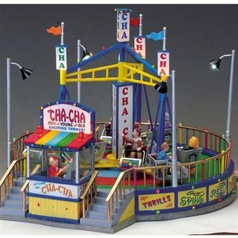 Lemax Carnival Sights Sounds The Cha Cha 74686 American